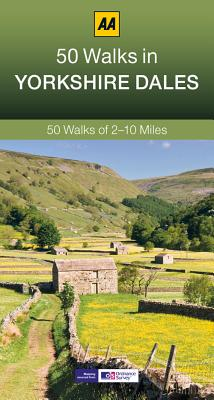 50 Walks in Yorkshire Dales By Automobile Association (Great Britain)